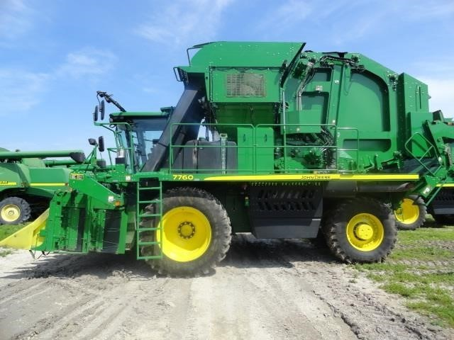 2014 John Deere 7760 Cotton Picker For Sale