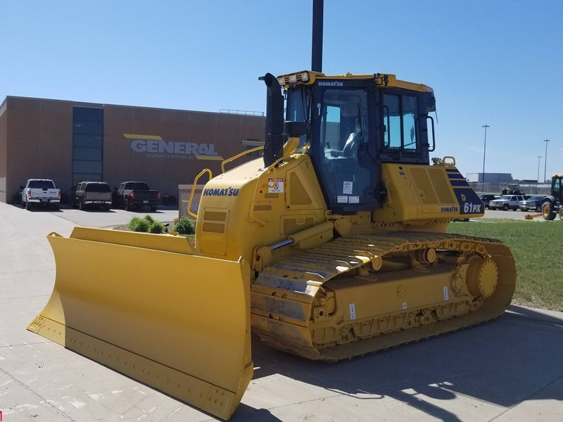 2018 Komatsu D61PX-24 Crawler Tractor For Sale