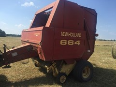 Baler-Round For Sale 1998 New Holland 664