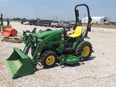Tractor For Sale 2014 John Deere 2025R