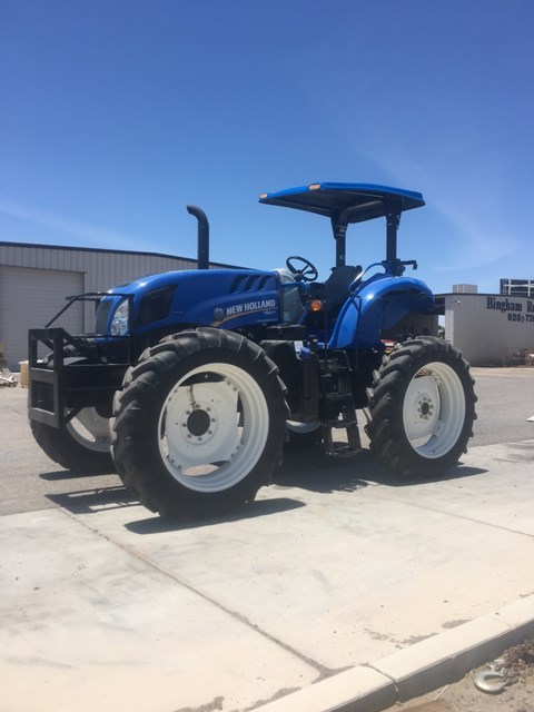 2017 New Holland TS6.120 HC Tractor