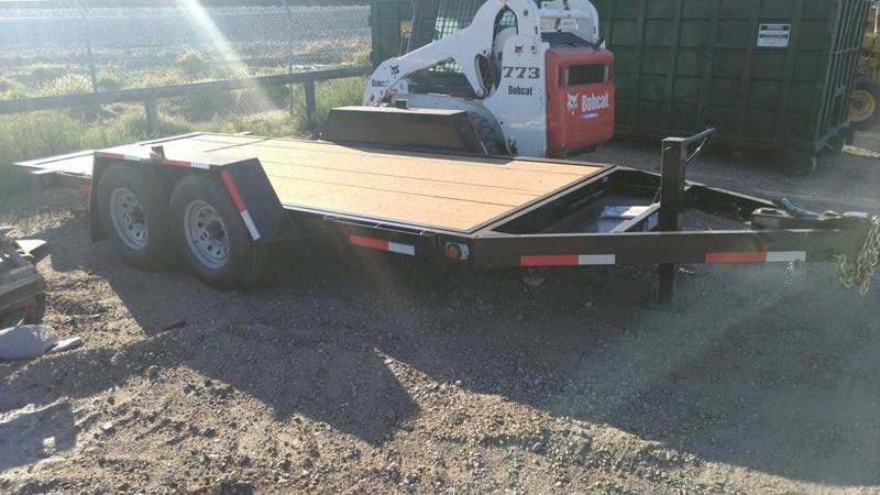 Fleming TT416-5 Equipment Trailer