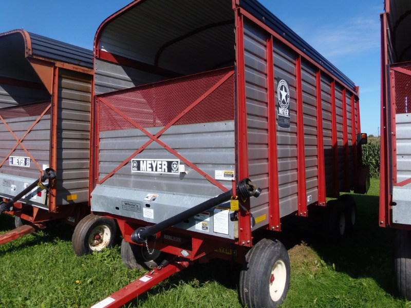2008 Meyer 3118 Forage Box-Wagon Mounted For Sale