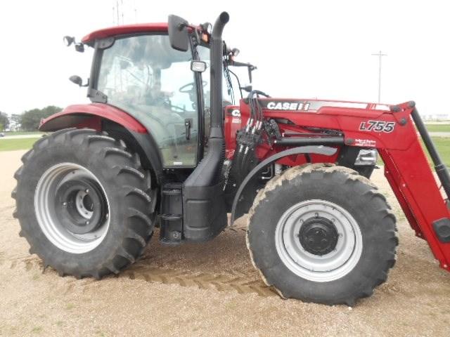 2015 Case IH 125 MAXXUM Tractor For Sale