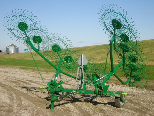 2012 Frontier WR1012 Hay Rake-Wheel For Sale