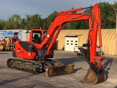 Excavator-Track For Sale:  2011 Kubota KX080-3