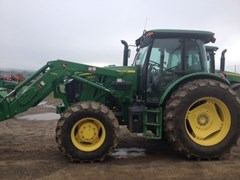Tractor - Utility For Sale 2016 John Deere 6135E , 135 HP
