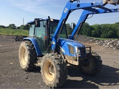 Tractor For Sale 2006 New Holland TL100A , 95 HP