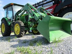 Tractor For Sale 2014 John Deere 5075E , 75 HP