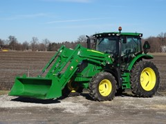 Tractor For Sale 2018 John Deere 6130R-IVT25 , 130 HP