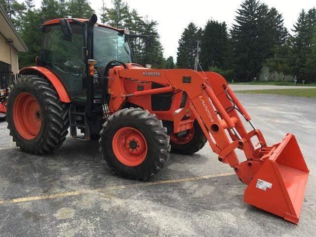 2014 Kubota M126GXDTC Tractor For Sale