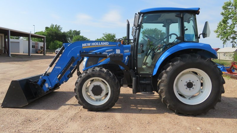 2015 New Holland POWERSTAR T4.75 Tractor For Sale