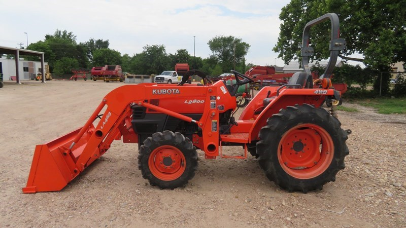 2004 Kubota L2800 Tractor For Sale