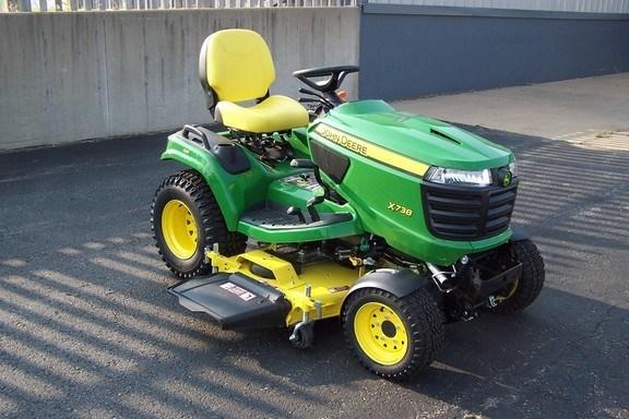 2017 John Deere X738 Riding Mower For Sale