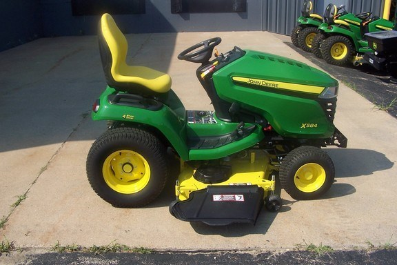 2017 John Deere X584 Riding Mower For Sale