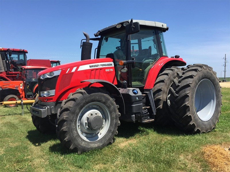 2013 Massey Ferguson 6616 Tractor For Sale