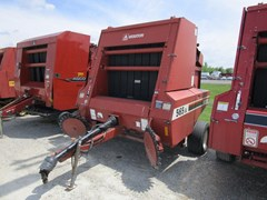 Baler-Round For Sale 1992 Hesston 565A