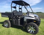 Utility Vehicle For Sale: 2009 Polaris 2009 RANGER HD 700 SILVER
