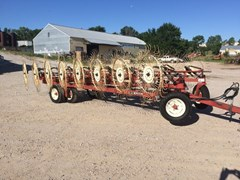 Hay Rake For Sale H&S 16 WHEEL BI FOLD RAKE