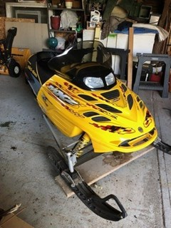 Snowmobile For Sale 2002 Ski Doo MXZ600