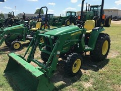 Tractor For Sale:  2015 John Deere 3038E , 38 HP