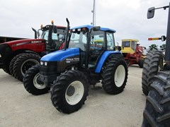 Tractor For Sale 2001 New Holland TS110 , 110 HP