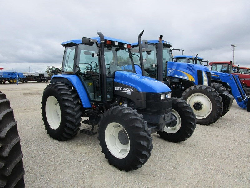 Photos of 2001 New Holland TS110 Tractor For Sale » New Holland