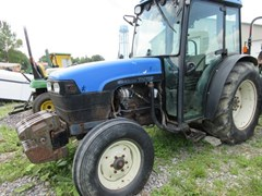 Tractor For Sale 2002 New Holland TN75F , 75 HP