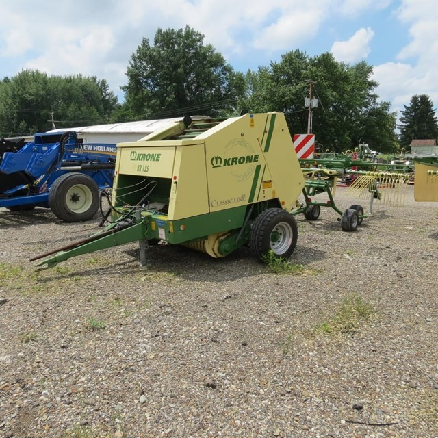 2008 Krone KR125 Baler-Round For Sale