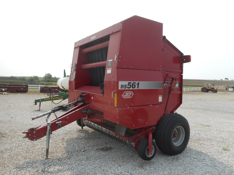 2000 Case IH RS561A Baler-Round For Sale