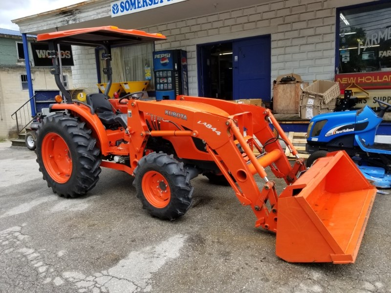 2011 Kubota MX5100 MFD LDR Tractor For Sale