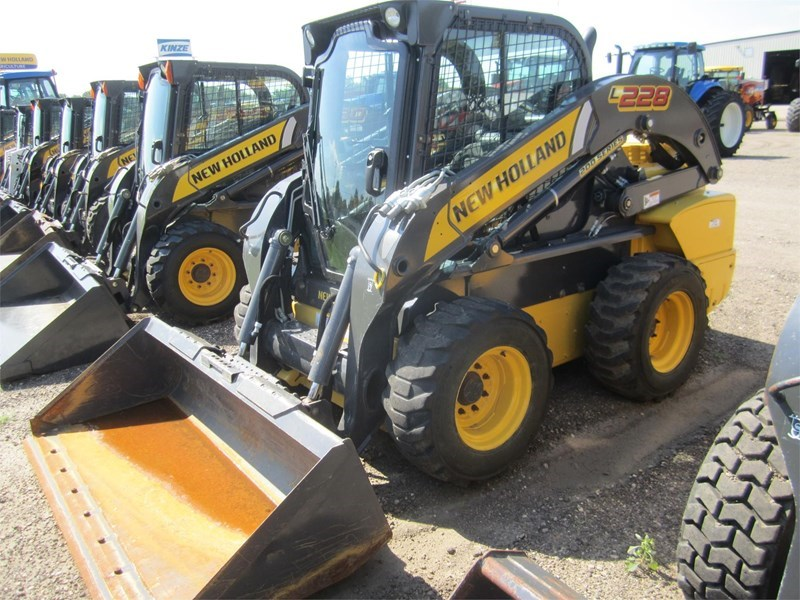 2015 New Holland L228 Skid Steer For Sale