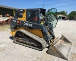 Skid Steer-Track For Sale: 2016 John Deere 333E