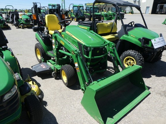 2015 John Deere 1025R Tractor For Sale