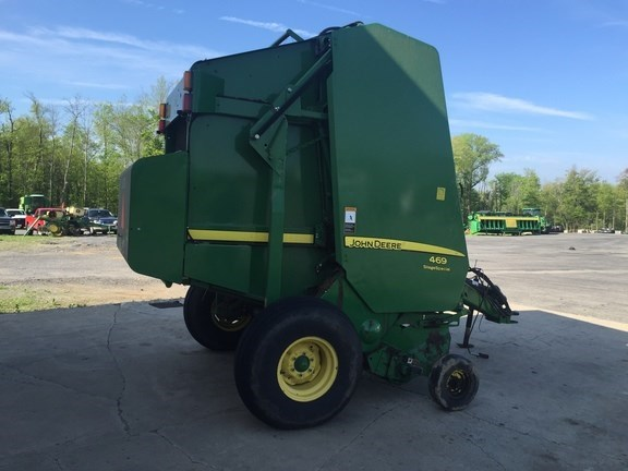 Photos of 2014 John Deere 469 Silage Special Baler-Round For