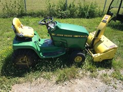 Riding Mower For Sale 1991 John Deere LX176 , 14 HP
