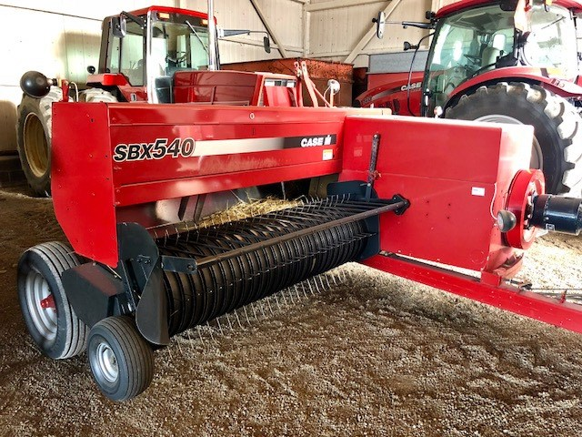 2008 Case IH SBX540 Baler-Square For Sale
