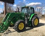 Tractor For Sale: 2017 John Deere 6110M, 110 HP