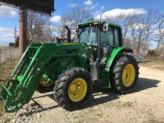 Tractor For Sale 2017 John Deere 6110M , 110 HP