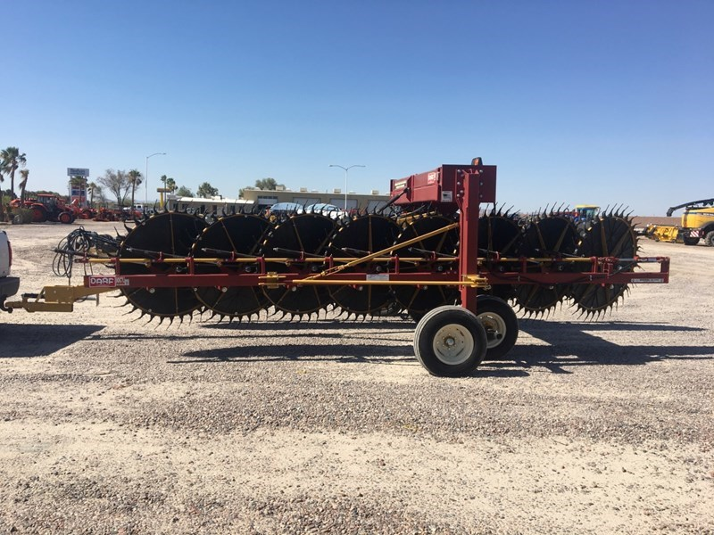 2015 Darf 1017LWB Hay Rake-Unitized V Wheel For Sale