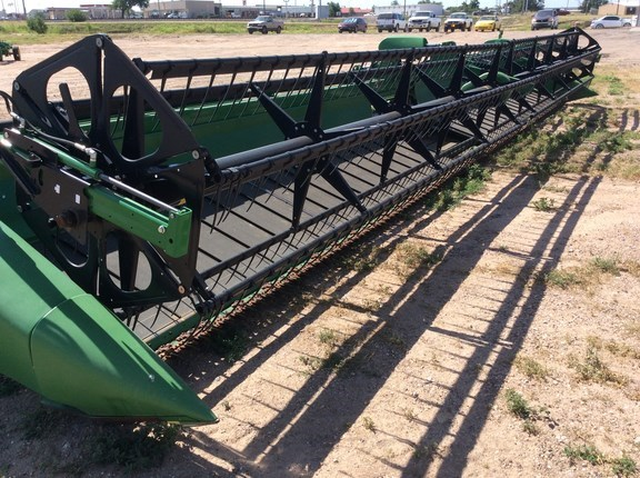 2015 John Deere 640D Header-Draper/Rigid For Sale