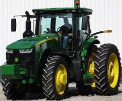 Tractor For Sale 2017 John Deere 8245R-PS , 245 HP