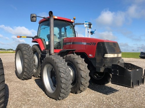 Tractor For Sale:  2001 Case IH MX270 , 270 HP