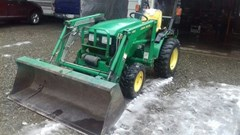 Tractor For Sale 2003 John Deere 4110 , 20 HP