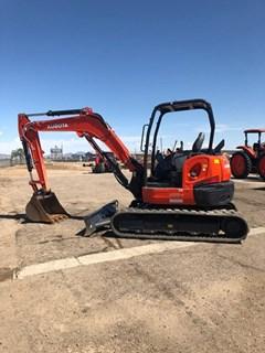 Excavator-Track :  Kubota U55-4R1