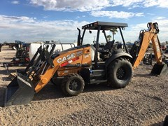 Loader Backhoe :  2018 Case 580SN