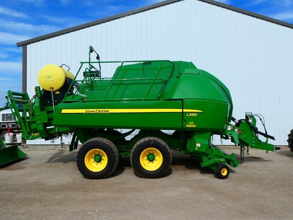 2015 John Deere L330 Baler-Big Square For Sale