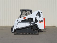 Skid Steer-Track For Sale:  2007 Bobcat T300 , 81 HP