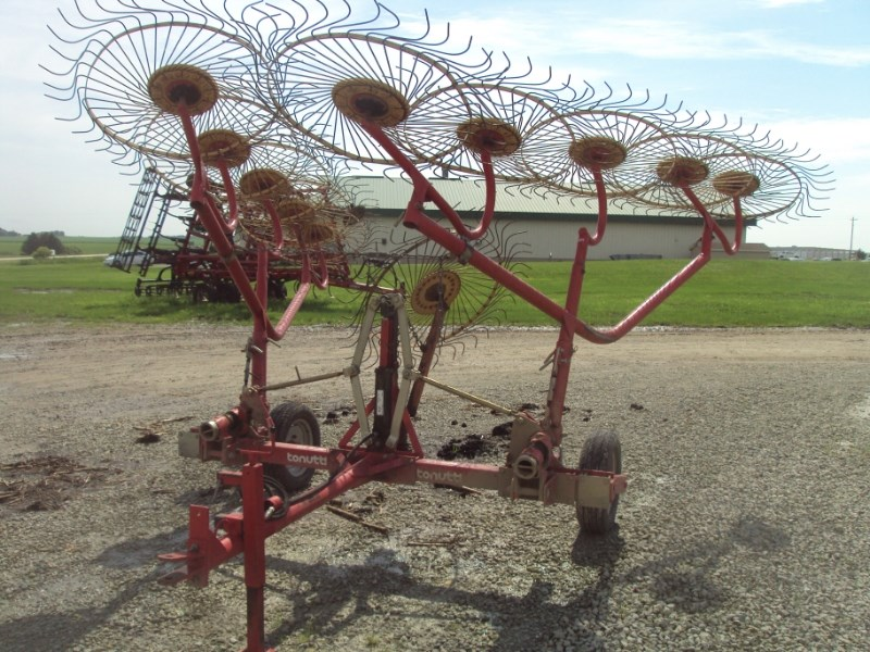 Tonutti RCS10 Hay Rake-Wheel For Sale