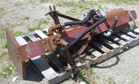 Photos of Homemade 3 Point Hitch Log Splitter Sprayer-3